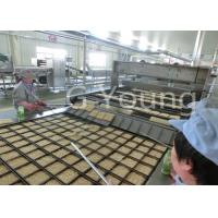 Buy cheap 240 000 Cakes 900mm Roller Fried Bag Instant Noodle Machine 65-80g / Cake from Wholesalers