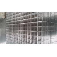 China High Tensile Stainless Steel Welded Wire Cloth , Galvanised Weld Mesh Panels on sale