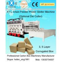 Buy cheap 5.5kw Flexo Carton Printing Slotting Machine With Double Roller For Cardboard from Wholesalers