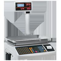 Cashier scale/TP-7000/LCD/LED/double display