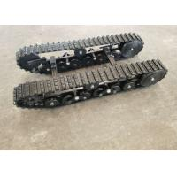 China ISO9001 Passed Rubber Steel Track Undercarriage DP-BGM-100 Robot Machinery Parts factory
