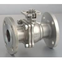 Buy cheap Handle Operation Floating Type Ball Valve ANSI CLASS 150 - 900 Pressure from Wholesalers