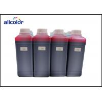 China Polyester / Paper Compatible Water Based Fabric Ink , Waterproof Textile Printing Ink factory