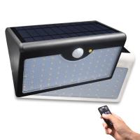 Buy cheap 60 LED Solar Light 1300lm Super Bright Upgraded Lamp for Outdoor Wall Yard Garden with Five Modes from Wholesalers