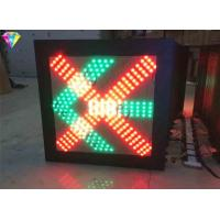 China Red Cross Green Arrow Traffic LED Display Traffic Warning Signal Light 400*400 on sale
