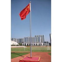 China 20ft Outdoor Tapered Telescopic Fiberglass Flag Pole factory