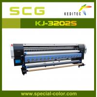 Buy cheap 3.2m digital solvent printing machine, canvas printers for sale KJ3200S from Wholesalers