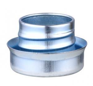 China Metal Flexible Conduit Fittings Conduit Ferrule Flat Type Galvanized Surface factory