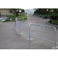 Buy cheap Low Carbon Steel Wire Mesh Fence Panels Pedestrian / Crowd Control Barricades from Wholesalers