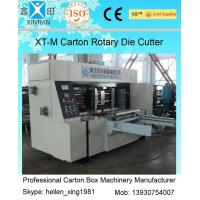 China Corrugated Colorful Carton Rotary Die-Cutting Machine For Die Cutting And Molding factory