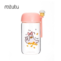China Mtutu Round Mouth 280ml Personalised Water Bottles For Kids factory