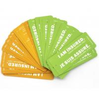Buy cheap Offset Printing Hang Tag Business Cards / Price Tags Custom Logo from Wholesalers
