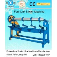 China Adjustment Carton Box Making Machine 1.5kw with Four Links Slotter , 3000mm Width factory