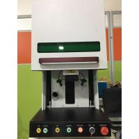 Buy cheap High Accuracy Fiber Laser Engraver Marking Machine Air Cooling Long Lifespan from Wholesalers