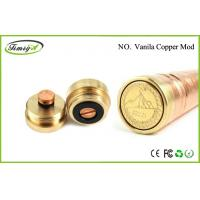 Buy cheap Rechargeable Mechanical Mod E Cig Vanilla Copper Mod Clone 1000 Puffs CE ROHS FCC from Wholesalers