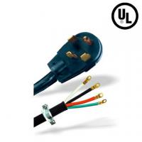 Buy cheap Power Dryer cords 30A 3 pole 125V/250V NEMA14-30P 4-wire, round cord from wholesalers