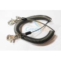 Buy cheap Heavy Duty Coil Tool Lanyard , High Security Coiled Security Tethers Load 15KG from Wholesalers