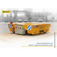 Buy cheap Industrial use remote control motorized 5t battery powered rail transfer cart from Wholesalers