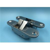 China High Security Mortise Mount Invisible Hinge With Riveted Hinge Pin factory