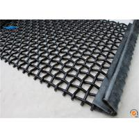 flat top screen cloth for vibrating screen  with high accuancy durable longer screening life time for Metso powerscreen