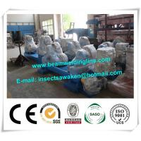 China Fit Up / Self Aligned Welding Rotator , Tank Turning Rolls Customized factory