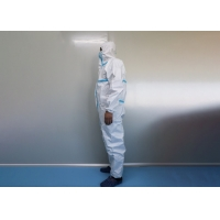 China Pharmaceutical Sterile XXXL Disposable Protective Wear on sale