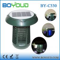 Quality Electronic Pest Control Product Camping Solar Mosquito Killer Lamp wholesale