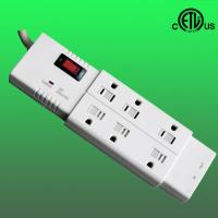 China 6-outlet ethernet surge protector factory