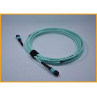 Buy cheap Multi Color Fiber Optic Jumper / Multimode Mpo Patch Cable OM3 4.0mm LSZH from Wholesalers