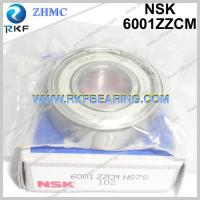 China Japan NSK 6001ZZCM 12X28X8 mm Radial Deep Groove Ball Bearing on sale