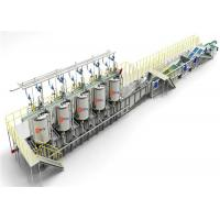 Buy cheap Blue Canned Foods Sterilization Equipment Palletizer 12000 Cans / Hour from wholesalers