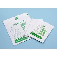 Buy cheap Sterile Medical Cotton Fabric Wound Care Dressings Vaseline Cheese Cloth Gauze from Wholesalers