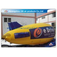 China Zeppelin Shape Inflatable Outdoor Advertising Balloons Heat Transfer Printing factory