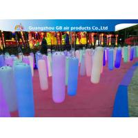 China Waterproof Inflatable Holiday Decorations / Inflatable Post With LED Light factory