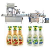 China 4 / 6 Heads Automatic Jam Filling Machine SS304 / 316 Material For Pharmaceuticals factory