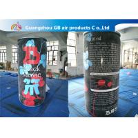China Airtight Pvc Inflatable Ring-Pull Can Advertising Air bottle For Sale factory