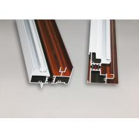 Buy cheap Wood Finish Structural Aluminium Extrusions Windows Profile Anti Corrosion from Wholesalers
