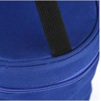 China Portable blue Oxford cloth lunch insulated bag outdoor picnic bag factory