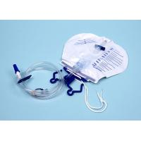 Buy cheap Medical Urology Disposables Luxury Urine Drainage Bag with Pull Push and T Valve from Wholesalers