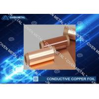 China High Conductive Electrolytic Copper Foil for Communication cable , wires factory