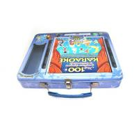 Buy cheap Rectangulard DVD tin with handle from Wholesalers