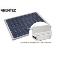 Buy cheap CA And CE Aluminum Solar Panel Frame 6063-T5 With Oxidized / Anodizing from Wholesalers