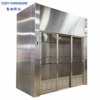 Quality lab furniture laboratory walk in fume hoods lab fume hood with fume scrubber for sale