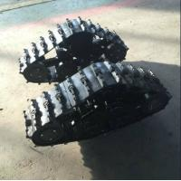 China Small Black Wheel Track System LP-180 For 200-300kg ATV Car ISO9001 Approval factory