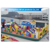 China Safety Octopus Party Style Inflatable Amusement Park With Slide For Fun Games factory