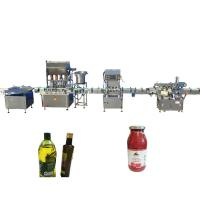 China PLC Control Essential Oil Filling Machine Color Touch Screen Available factory