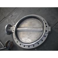 Buy cheap Large Double Flanged Butterfly Valve / Water Butterfly Control Valve from Wholesalers