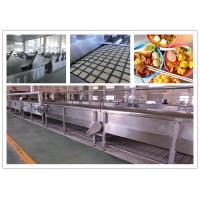 Buy cheap CE ISO SGS Instant Noodle Making Machine , Automatic Noodle Machine Stainless Steel from Wholesalers