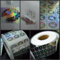 China security sticker,hologram sticker,hologram label,security label factory