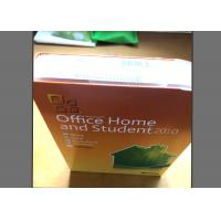 Buy cheap Genuine Office Home And Business 2010 Download , MS Office 10 Product Key from Wholesalers